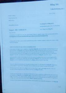 Bilag 101. Side 1 Vidneforklaring del 2.