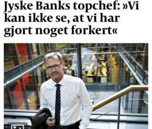 ANDERS DAM Har siden maj 2016 nægtet dialog - Og vil bare ikke svare på noget - Men her er en kunder som bliver ved, at forsøge dialog, selv om banken laver svig / bedrageri - ANDERS STOP NU JYSKE BANKS BEDRAGERI. - Eller tilbyd at du sammen med os, gennemgår tidslinien her. - Forklar os da loven som jyske bank fortolker den. - Vi betaler gerne jyske bank, forudsat vi ikke er udsat for bedrageri.