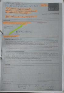 Samtykke erklæring, JB anmoder NK om lånetilbud på matrikkel 1.S ER 19 GRUNDE