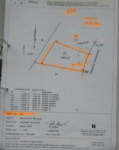 Laver NYT bygge projekt. 2. del arial af 1ar byggegrund 2.875 m2 et andet byggebudget