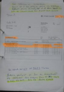 Forhånds garanti 4.328.000 kr. provision 13.517 Nota, SE NK ref. 11-10-2016 bilag 1071