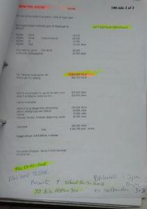 Budegtter til 31. og 11. afleveret Jb for et lånetilbud, 19-01-2008 indsat tilbud 1 og 2