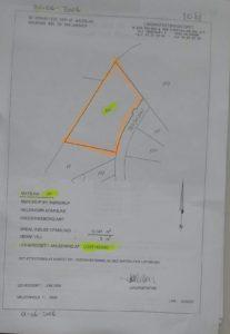 Grundudstykning 1Ar. under udstykning fra matrikkel 1S. Skal udstykkes for projekt
