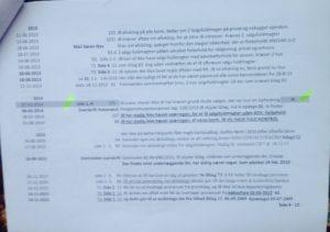 Tidslinie side 9.- 5 af 12. / 03-11-2018 - Bruges i jyske bank svindelsagen Under vidne afhøring og forklaring